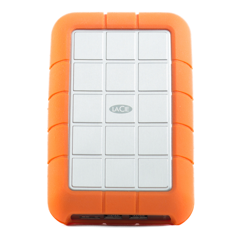 LaCie Rugged - designed by Neil Poulton